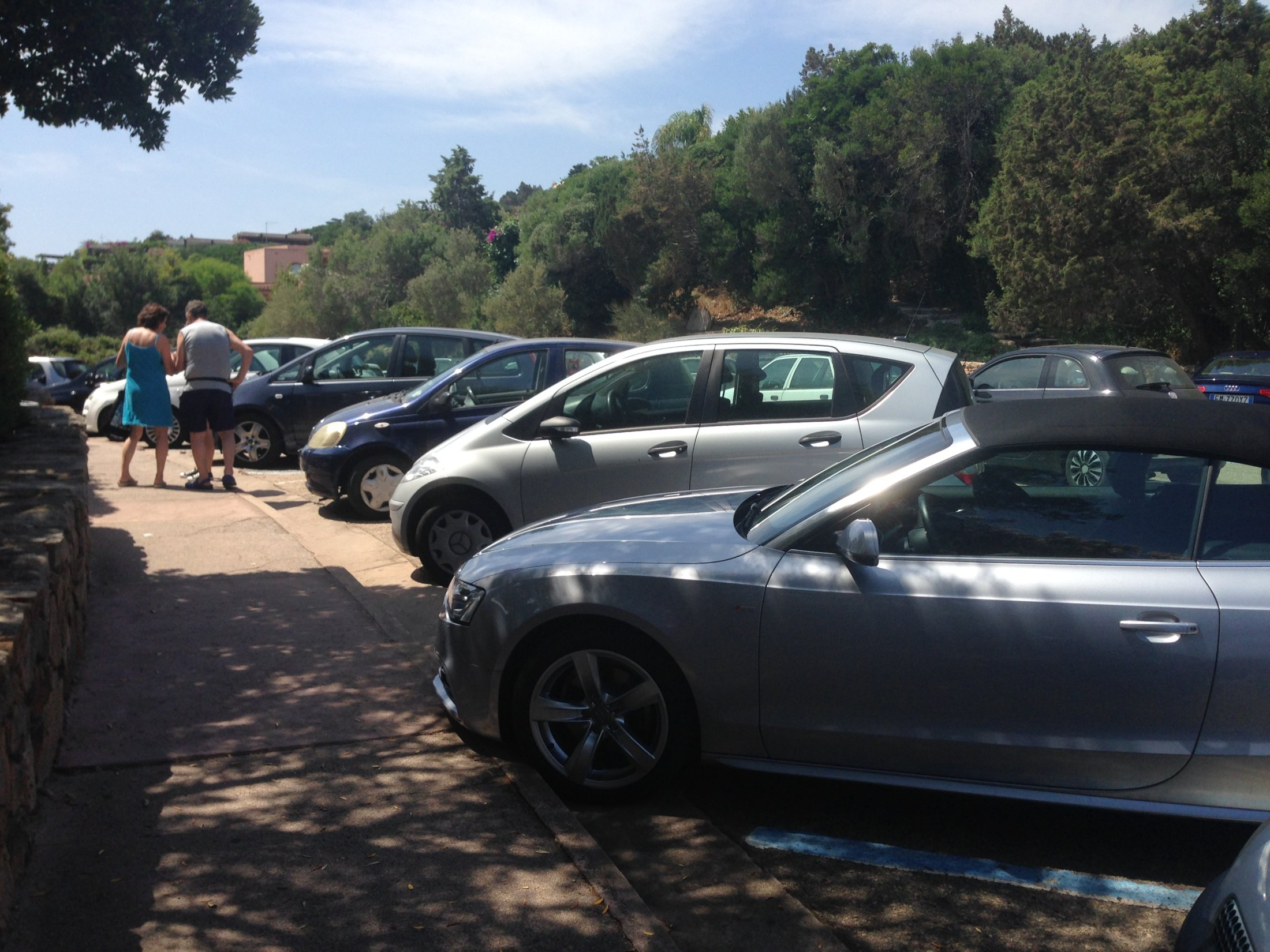Parcheggio Rotatoria Porto Cervo