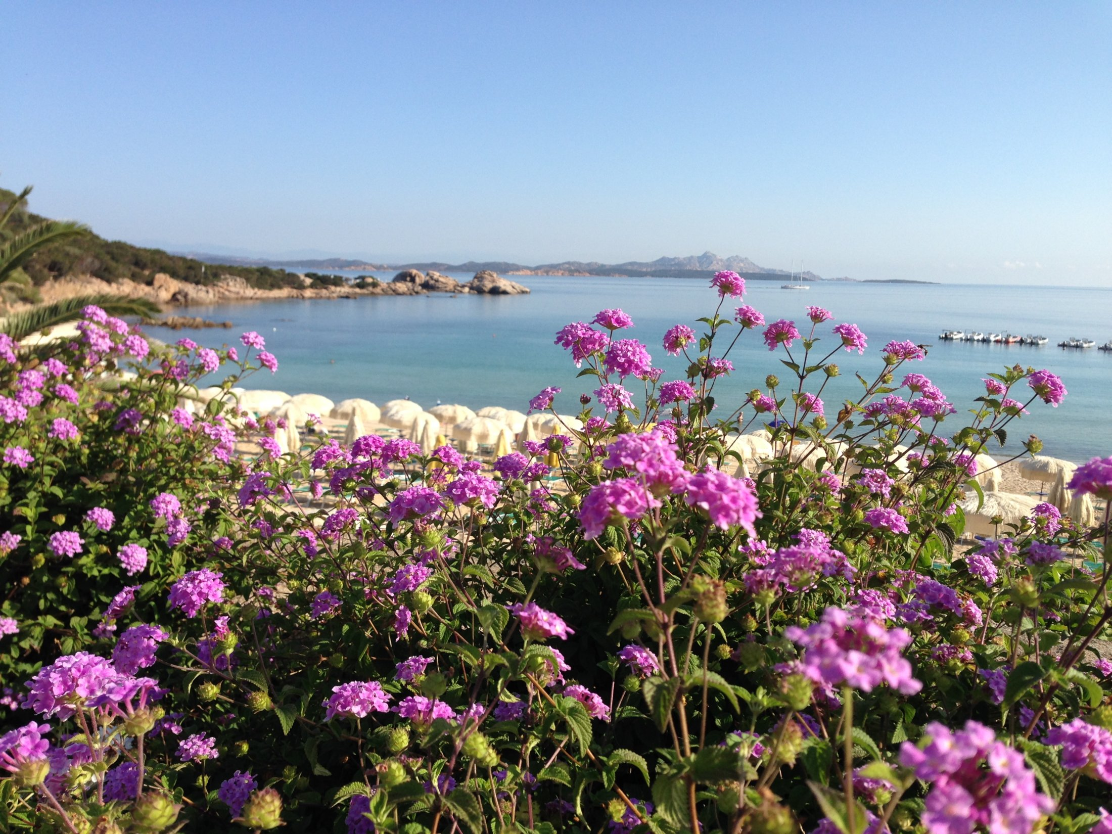 Baja Sardinia,spiaggia .