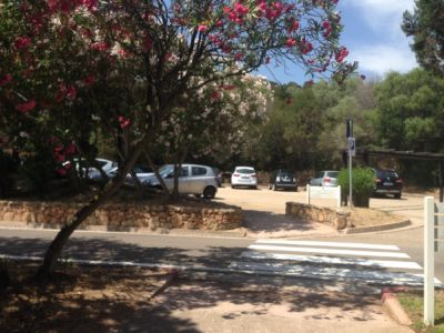Parking rotatoria Porto Cervo