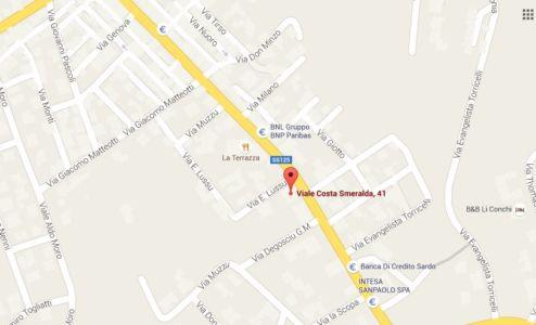 "<a href=""https://www.google.it/maps/place/Viale+Costa+Smeralda,+41,+07021+Arzachena+OT/@41.0752778,9.3911736,543m/data=!3m1!1e3!4m5!3m4!1s0x12d9456b0be7759b:0xcf2a494568bbdecb!8m2!3d41.0752778!4d9.3933623""><b>Sede operativa: Viale Costa Smeralda 41</b></a>"