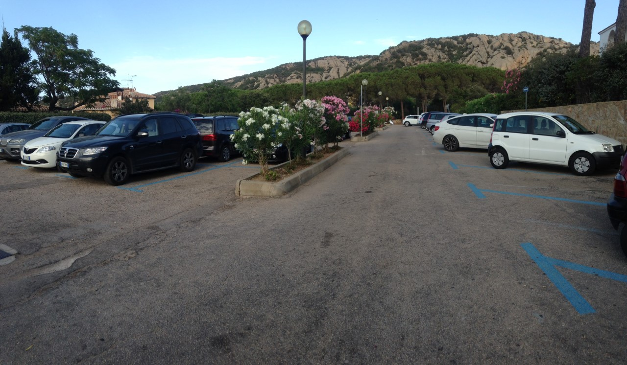 Parking di via della Mortella - Baja Sardinia